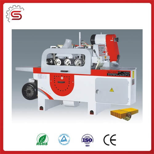 Wood multi-blade round sawing machine MJ143C for sale