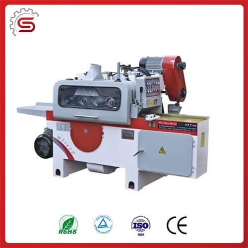 Multi-blade round sawing machine MJ143E with CE