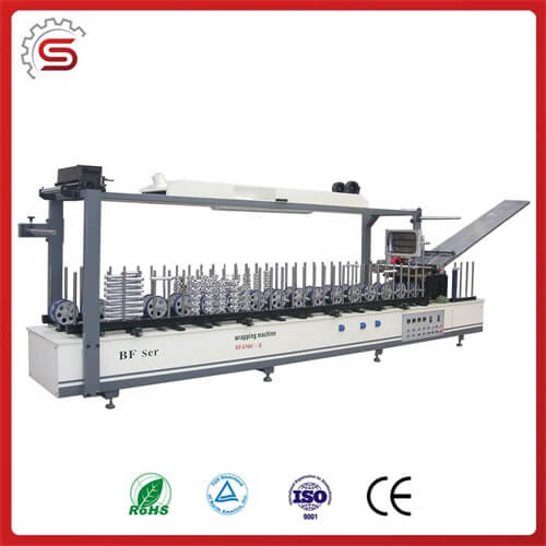 MDF BF450C-II Profile Wrapping Machine