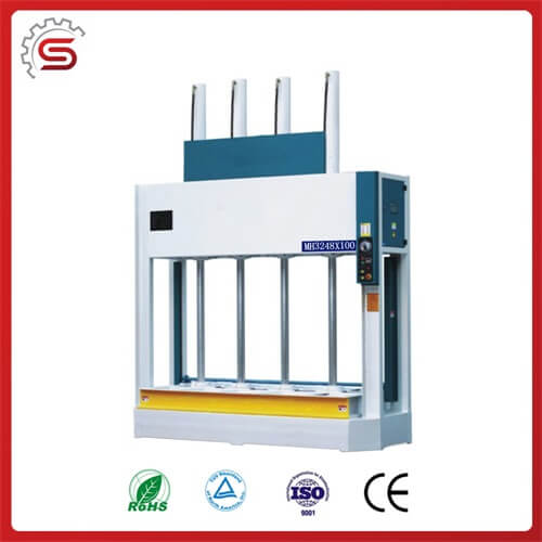 MH3248*100 china good price hydraulic cold press for wood