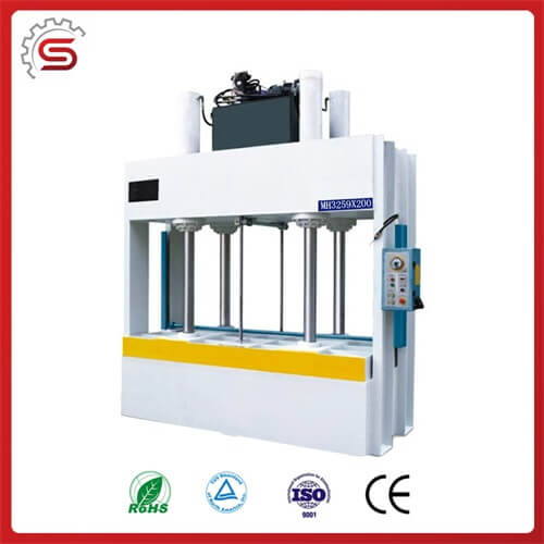 Easily operation wood door press machine MH3259*200 cold isostatic press machine for sale