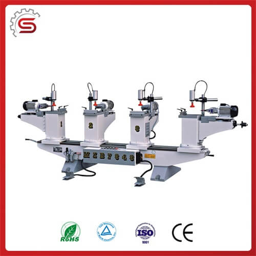 High quality driller machine MZB7343 Horizontal multi-axle woodworking driller with four head