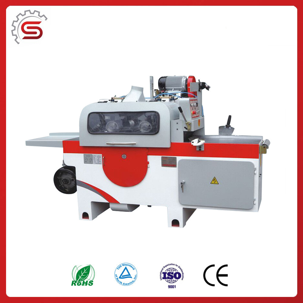 MJ1435F High quality wood saw machine Muli-blade Round Sawing Machine